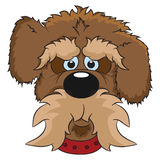 Portrait of dog illustration Royalty Free Stock Images