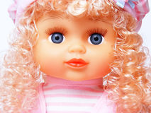 Portrait doll Stock Images