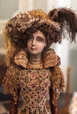 Portrait of Doll in Museum of Yaroslavl, Russia Royalty Free Stock Photography
