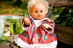 Portrait Doll Stock Photos
