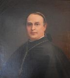 Portrait of Dom Bede Vaughan Stock Photo