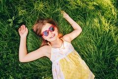 Portrait doux de petite fille Image libre de droits