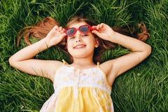 Portrait doux de petite fille Images stock