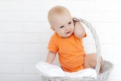 Portrait du beau bébé photo stock