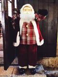 Portrait du père noël pour la décoration de Noël dans la rue Photos libres de droits