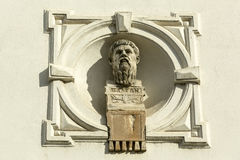 Portrait du philosophe grec Platon Images stock