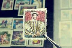 Portrait du Roi Francis images stock