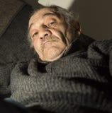 Portrait du vieux parrain Image libre de droits