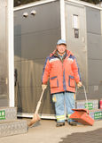Portrait of a dustman Royalty Free Stock Photography