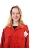 Portrait of  Dutch scout girl Stock Photos