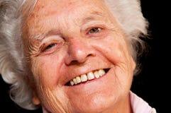 Portrait einer älteren Frau Lizenzfreies Stockfoto
