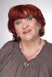 Portrait einer älteren Frau. Stockfotos