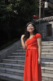 Portrait einer chinesischen Schönheit Lizenzfreie Stockbilder