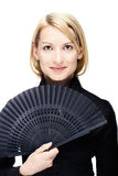 Portrait einer erfolgreichen Geschäftsfrau Stockfotos