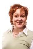 Portrait einer fällig-gealterten Geschäftsfrau Lizenzfreies Stockbild