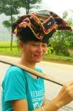 Portrait einer Frau siamesisch Stockbilder