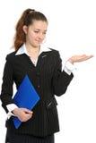 Portrait einer Geschäftsfrau   Stockfoto