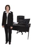 Portrait einer Geschäftsfrau Lizenzfreie Stockfotografie