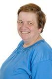 Portrait einer glücklichen lächelnden Großmutter Stockfotos