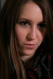 Portrait einer jungen Dame Lizenzfreies Stockfoto