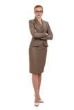 Portrait einer jungen erfolgreichen Geschäftsfrau Stockfoto