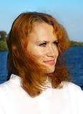 Portrait einer jungen Frau Lizenzfreie Stockfotos