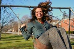 Portrait einer jungen Frau Stockfoto