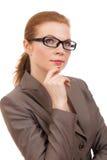 Portrait einer jungen Geschäftsfrau Lizenzfreie Stockbilder