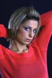 Portrait einer jungen, modernen Frau stockfotos