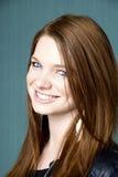 Portrait einer jungen schönen Frau lizenzfreies stockbild