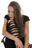 Portrait einer jungen schönen Frau Lizenzfreie Stockbilder