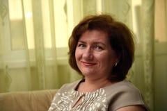 Portrait einer netten Frau Lizenzfreie Stockbilder
