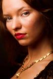 Portrait einer reizvollen Frau Lizenzfreie Stockfotografie