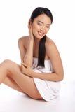 Portrait einer schönen asiatischen Frau Stockbilder