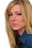 Portrait einer schönen Frau Stockbild