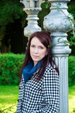 Portrait einer schönen Frau Lizenzfreies Stockbild