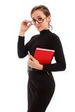 Portrait einer schönen Geschäftsfrau Stockbilder