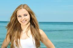 Portrait einer schönen jungen Dame Stockfotos