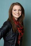 Portrait einer schönen jungen Frau Lizenzfreie Stockfotos