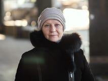 Portrait einer von mittlerem Alter Frau Lizenzfreies Stockfoto