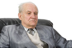 Portrait eines Älteren Stockfotos