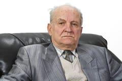 Portrait eines Älteren stockbild