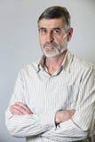 Portrait eines älteren Mannes Lizenzfreie Stockbilder