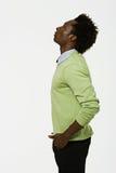 Portrait eines Afroamerikanermannes lizenzfreies stockfoto