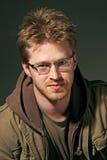 Portrait eines attraktiven Mannes Lizenzfreies Stockbild