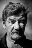 Portrait eines fälligen Mannes. Lizenzfreies Stockbild