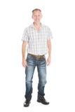 Portrait eines fälligen Mannes Lizenzfreie Stockfotos