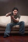 Portrait eines gamer Lizenzfreie Stockbilder