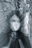 Portrait eines Geistmädchens stockfotos