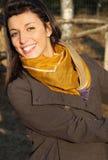 Portrait eines glücklichen jungen Mädchens Stockfoto